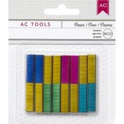 American Crafts - Recharge pour Agrafeuse American Crafts - Multicolor