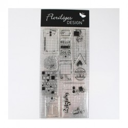 Florilèges Design - Les tampons transparents - Clear stamps - Best of 2