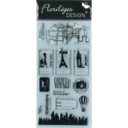Florilèges Design - Les tampons transparents - Clear stamps - Destinations