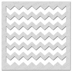 My Favorite Things - Mixables - Stencils - Large chevron Stripes