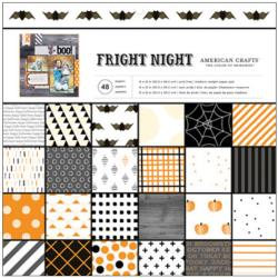 American Crafts - Kit de papier -  Fright Night