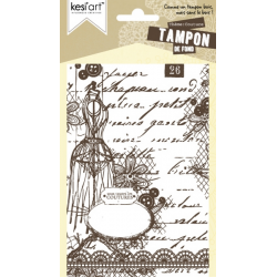 Kesiart - Cling Rubber Stamp - Couture
