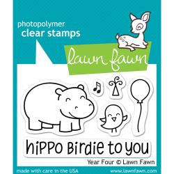 Lawn Fawn - Clear Stamps - Year Four