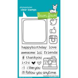 Lawn Fawn - Clear Stamps - Awesome