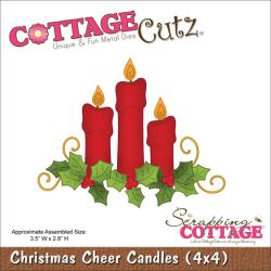 Cottage Cutz - Dies - Christmas Cheer Candles
