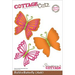 Cottage Cutz - Dies - Build a Butterfly