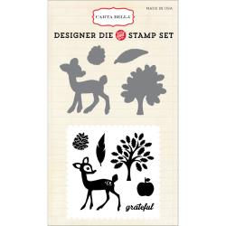 Carta Bella - Designer Dies and Stamp Set - Grateful