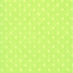 Bazzill - Dotted Swiss - Celtic Green