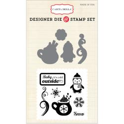 Carta Bella - Designer Dies and Stamp Set - Cold outside