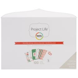 Project Life  - Becky Higgins - Dear Lizzy - Mini Kit - Edition Fete et petits pois