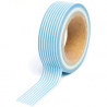 Queen & Co - Masking Tape - Bleu rayé