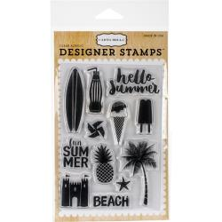 Carta Bella - Designer Stamps - Clear Acrylic - Summer Fun