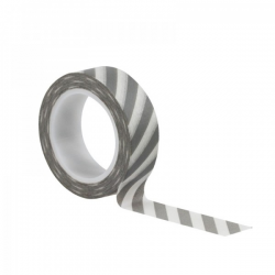 Kesi'art - Masking tape - Stripes Grey