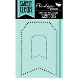 Florilèges Design - Tampon - Sweety clear - Tags points
