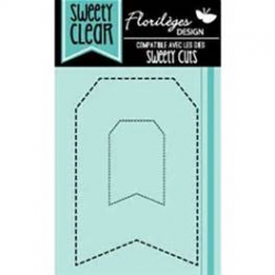 Florilèges Design - Tampons - Sweety clear - Tags pointillés