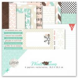 Les Papiers de Pandore - Kit papiers - Winter Song