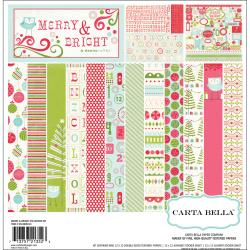Carta Bella - Kit de papier -  Merry & Bright