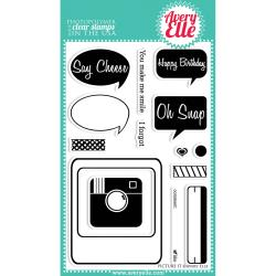 Avery Elle - Clear Stamp - Say Cheese