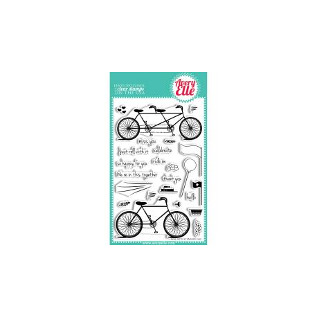 Avery Elle - Clear Stamp - Roll with it Stamp