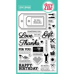 Avery Elle - Clear Stamp - Simply Tags Every day
