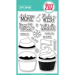 Avery Elle - Clear Stamp - Cupcakes Stamp
