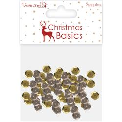 Dovecraft Collections - Sequins - Christmas Basics