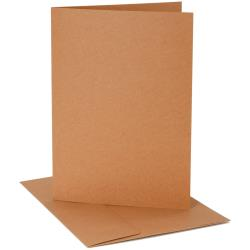 Darice Smooth - Core'dinations - Enveloppes et cartes A2 Kraft
