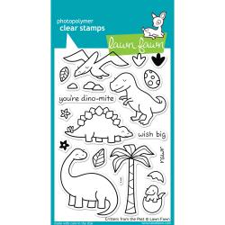 Lawn Fawn - Clear Stamps - Critters from the past