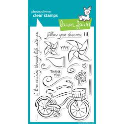 Lawn Fawn - Clear Stamps - Cruising Through Life