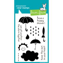 Lawn Fawn - Clear Stamps - Partly Cloudy