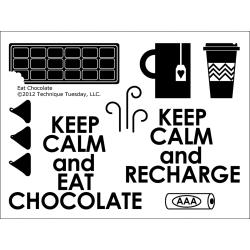 Technique Tuesday - Tampons clear - Eat Chocolate