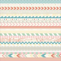 The Pier - Feuille adhésive washi tape