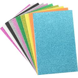 Fibre craft - Glitter foam - 10 feuilles