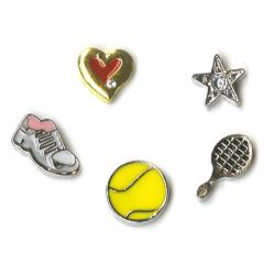 Blue Moon Beads - Story Lockets - Breloques en métal - Tennis