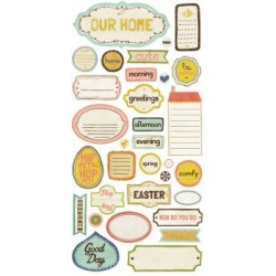 Crate Paper - Stickers - Phrases Neighborhood Collection