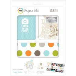 Project Life - Becky Higgins - Cathy Zielske - Kit 150 pièces