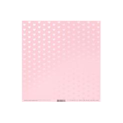 Bazzill - Cardstock - Foil cotton candy
