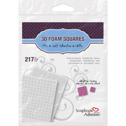 Scrapbook-adhesives - Carrés de mousse 3D