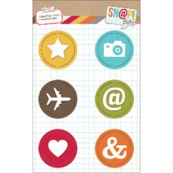 Simple Stories - Snap Studio - Badges - Icons