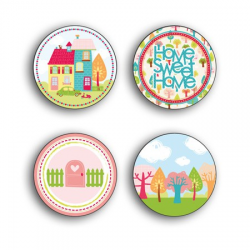 Toga - Badges - Home sweet Home