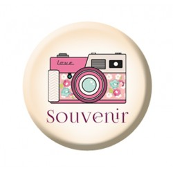 Swirlcards - Badge - Confettis Souvenir