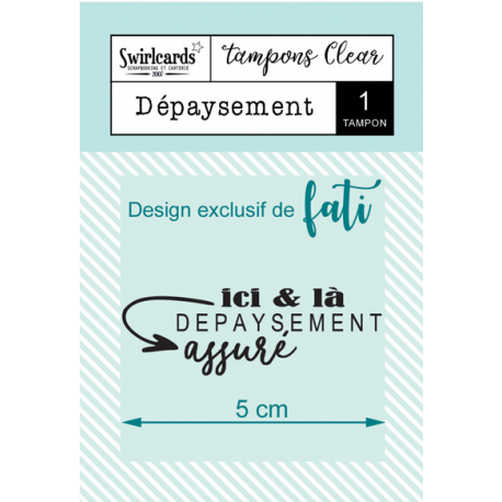 Swircards - Tampon clear - Dépaysement