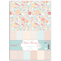 TOGA - Color Factory - Assortiment 48 feuilles A4 - Romantique