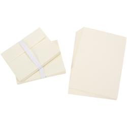 Darice Smooth - Enveloppes et cartes A7 - Ivory