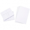 Darice Smooth - Core'dinations - Enveloppes et cartes A2 White