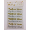 Toga - Oh ! Glitter - Stickers - Meilleurs voeux
