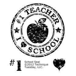 Technique Tuesday - Tampon clear - School Seal