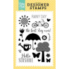 Echo Park - Clear Stamps - Sunshine Stamp
