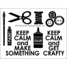 Technique Tuesday - Clear Stamp - Crafty