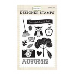 Carta Bella - Designer Stamps - Clear Acrylic - Fall Days